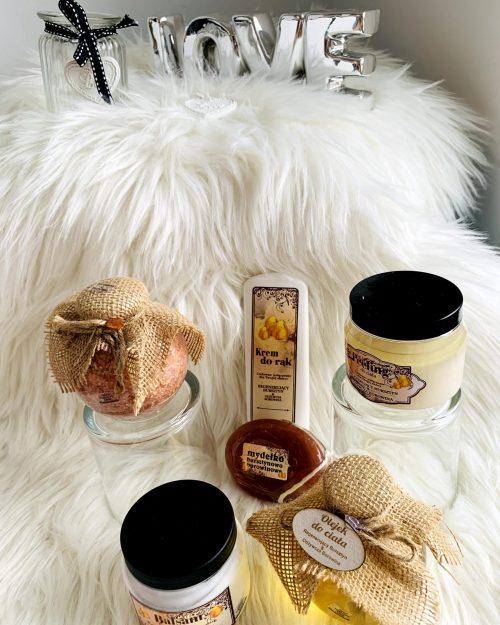 ZESTAW SILVER kosmetyki naturalne z bursztynem i borowiną, 6 produktów