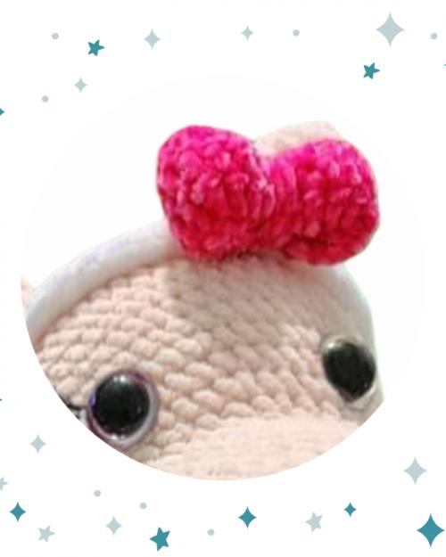Szydełkowy Hipopotam – 50cm, Handmade (XL)