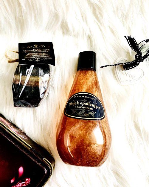 ZESTAW BLACK kosmetyki naturalne z bursztynem i węglem aktywnym, 2 produkty